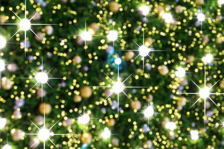 christmas tree light Standard-Bild