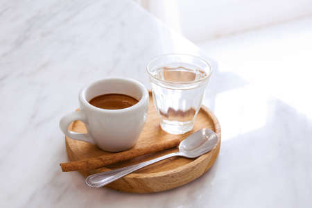 A cup of cafe  with coffee