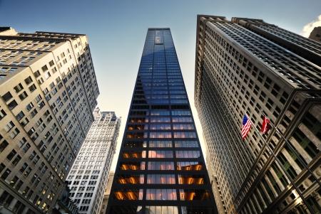 wallstreet: New york  Stock Photo