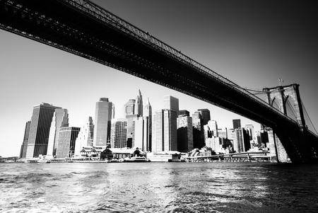 BW new york siluette  Stock Photo - 9326507