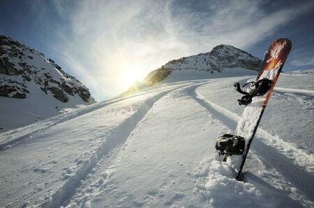 deep freeze: Libre de polvo mountain view  Foto de archivo