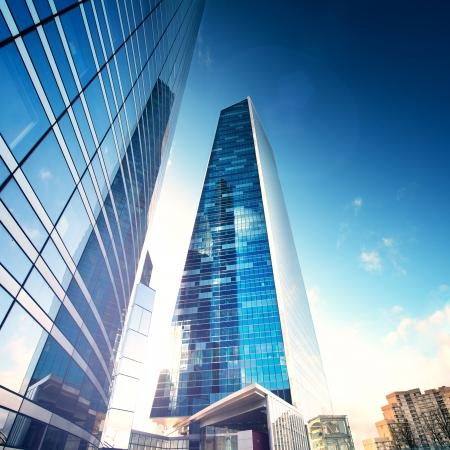 aerial city: Future City - Paris la défense