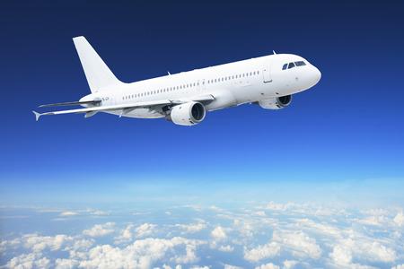 Avion dans le ciel - avion avion de ligne Banque d'images - 26129302