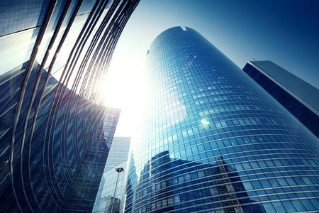 Paris LaDefense - modersn skyscraper
