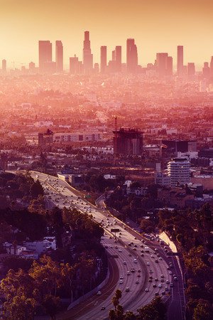 Los Angeles - California City Skyline