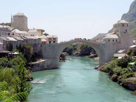 mostar: Bridge in Mostar