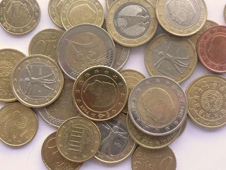 moneymaker: Euro coins Stock Photo