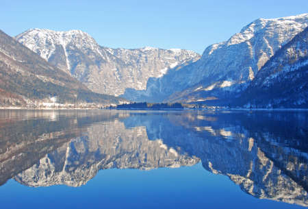 Dream-like Hallstatt lake at Australia, Europe  Stock Photo - 11576431