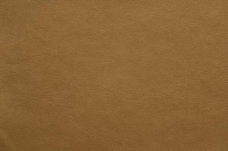 Light brown colored faux leather with a fine texture, background.