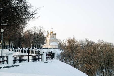 Orthodox Church of the Transfiguration of the Savior on Yara, Russia.