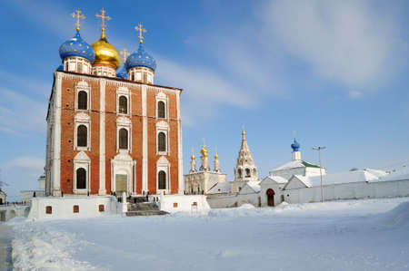Cathedral of the assumption of the Ryazan Kremlin, the main Church of the land of Ryazan.