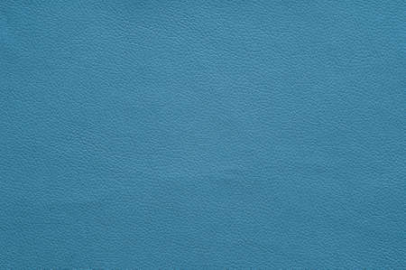 Light blue artificial leather with large texture, background.