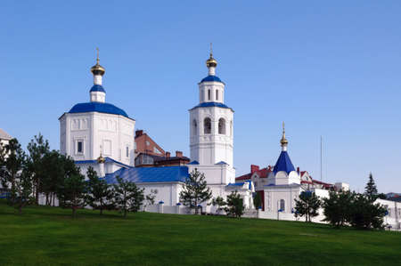 Temple in honor of the Holy great Martyr Paraskeva Friday, Kazan, Russia.