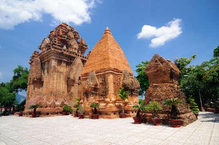Cham Po Nagar Türme in Nha Trang.