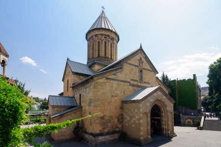 Sioni is historically the main temple of Tbilisi, Georgia. Stock Photo