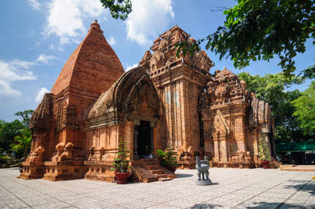 Ponagar temple complex of the medieval state of Champa in Nha Trang, Vietnam.