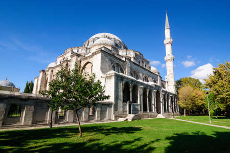 Shehzade mosque of Fatih district in the European part of Istanbul, built in 1548.