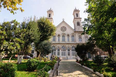 Holy Trinity Church built in 1880, Istanbul. Banco de Imagens