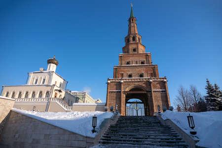 Syuyumbike Tower is a symbol of the city of Kazan, Tatarstan Republic, Russia.