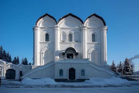 Annunciation Cathedral in the Kremlin of Kazan, Tatarstan Republic, Russia.