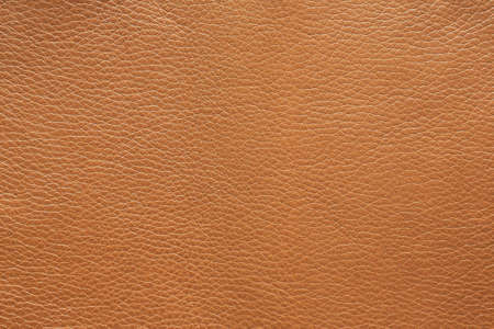 Surface texture of metallic light brown leather, background.