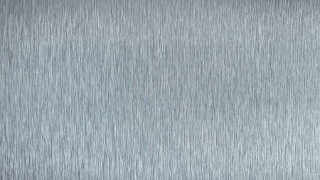 Surface texture of a sheet of polished aluminum, background. Imagens