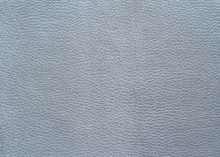 The texture of the leather color silver metallic, background Imagens