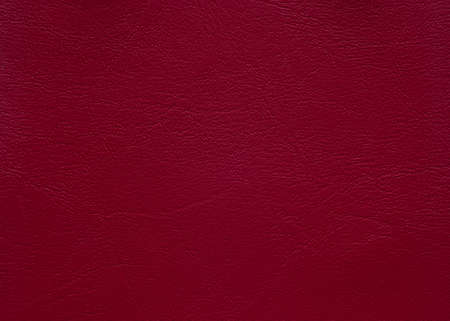 Close up leather texture crimson in color, background.