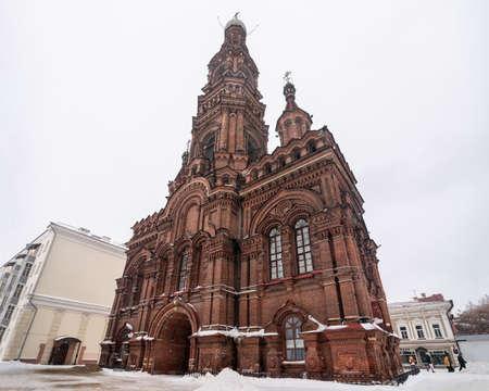 Epiphany Bell Tower in Kazan, Tatarstan Republic.