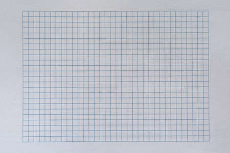 The texture of a checkered sheet with white margins., background. Imagens