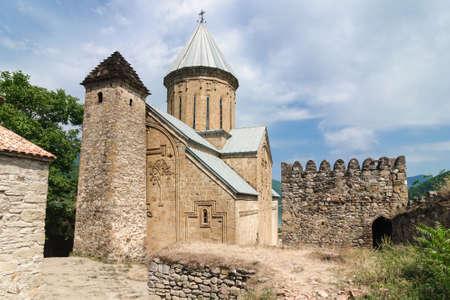 Assumption Church in Ananuri fortress 17th century, Georgia.