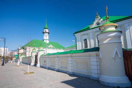 Marjani Mosque in Kazan, Tatarstan Republic, Russia.