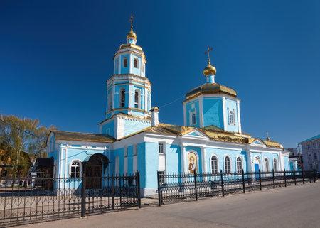 Church of the Tikhvin Icon of the Mother of God, Kazan, Tatarstan Republic.