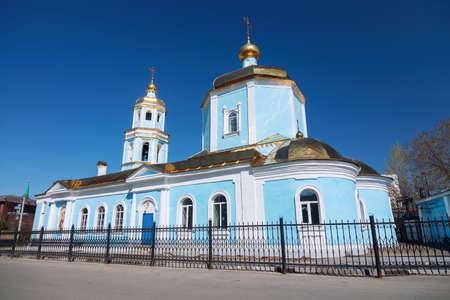 Tikhvin Church of the Mother of God in Kazan in Starotatarskaya Sloboda.