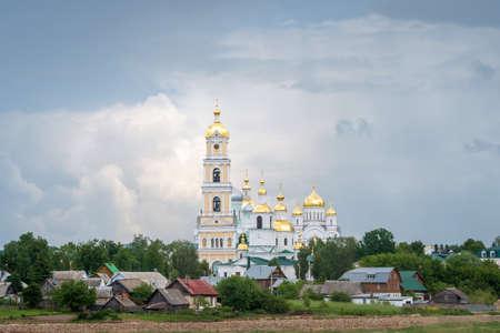 View of the Diveyevsky Monastery, Nizhny Novgorod region, Russia.