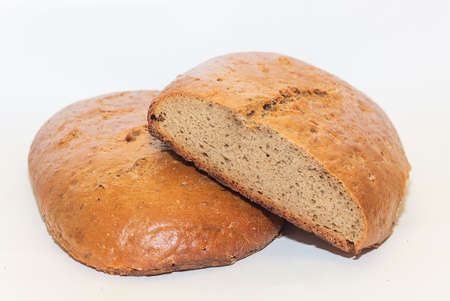 tradition: Loaf of traditional rye hearth bread
