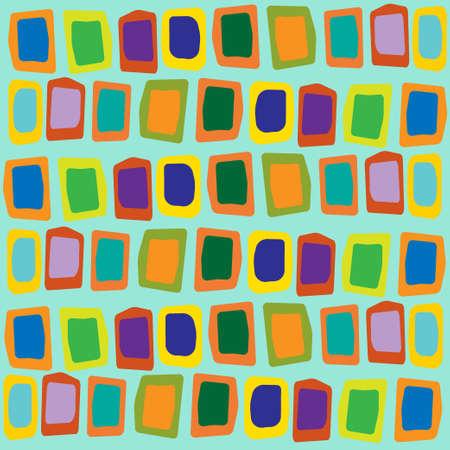 seamless pattern geometric background. Hand drawn navajo fabric. Modern abstract wallpaper. Vector illustration.