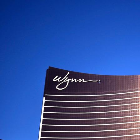 Wynn Hotel in Las Vegas Editorial