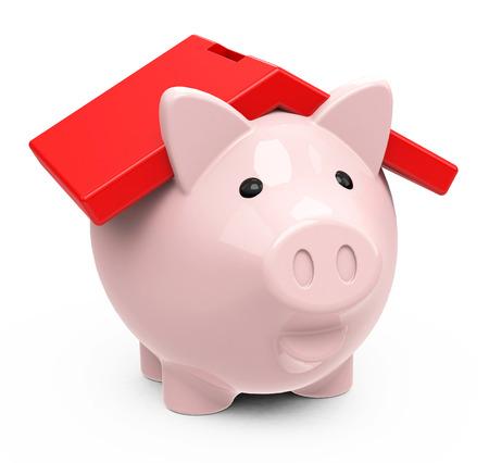 the piggy bank house