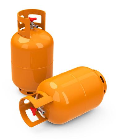 the gas tanks Stock Photo - 26451233