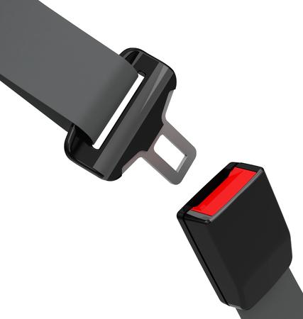 cinturon seguridad: el cintur�n de seguridad Foto de archivo
