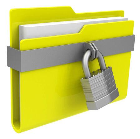 the locked folder