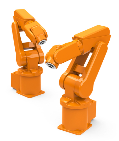 industrial robots photo