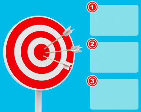 bull s eye: three step target