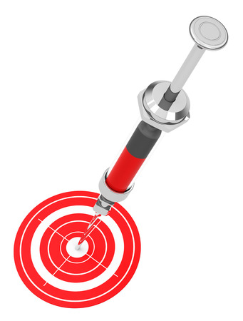 bull s eye: the syringe target