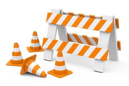 Die Blockade Standard-Bild - 27048113