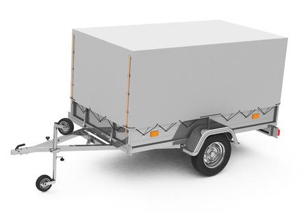 the trailer Stock fotó - 27078169