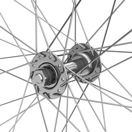 le pneu jante de vélo Banque d'images