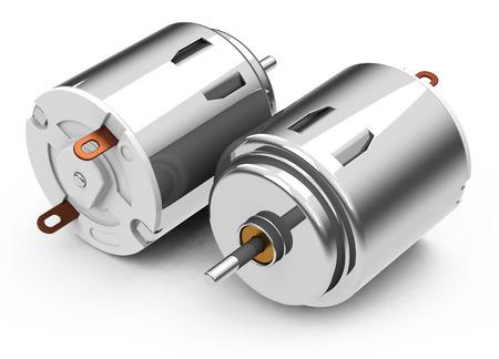 the electric motors