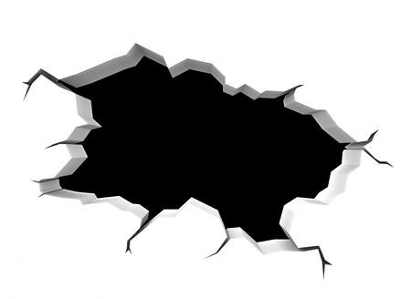 pared rota: la pared rota
